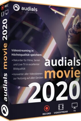 Audials Movie 2020 (Code in a Box)