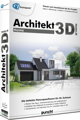 Architekt 3D 20 Home (Code in a Box)