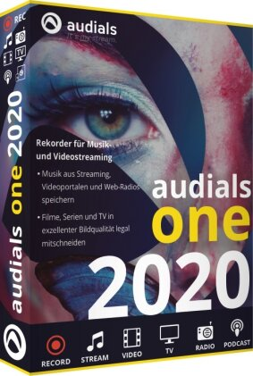 Audials One 2020 (Code in a Box)