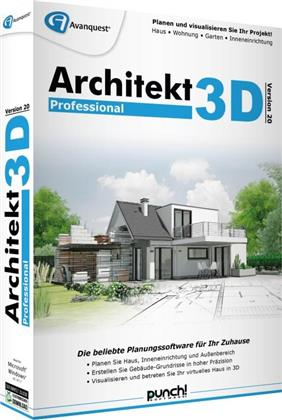 Architekt 3D 20 Professional (Code in a Box)