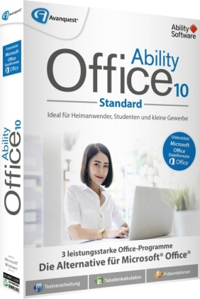 Ability Office 10 (Code in a Box)