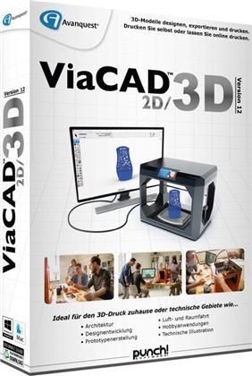 ViaCAD 12 2D/3D (Code in a Box)