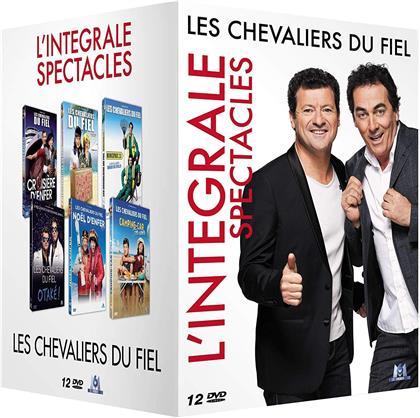 Les Chevaliers du Fiel - L'intégrale spectacles (12 DVDs)