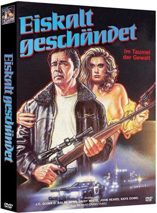 Eiskalt geschändet (1984) (Cover B, Limited Edition, Mediabook, Uncut, Blu-ray + 2 DVDs)