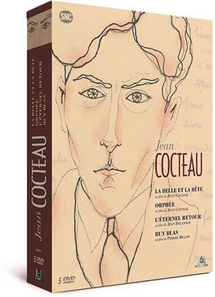 Jean Cocteau - La Belle et la Bête / Orphée / L'éternel retour / Ruy Blas (5 DVDs)
