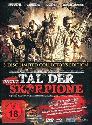 Tal der Skorpione (2019) (Limited Edition, Mediabook, Uncut, Blu-ray + 2 DVDs)