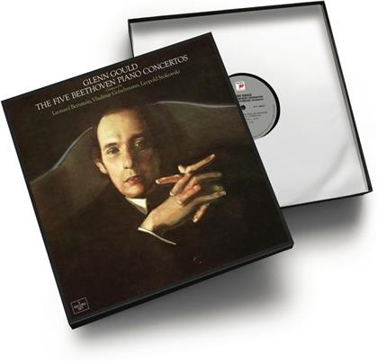 Ludwig van Beethoven (1770-1827) & Glenn Gould (1932-1982) - The Five Piano Concertos (4 LPs)
