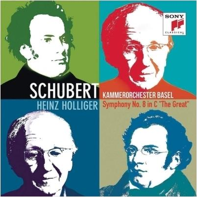 Franz Schubert (1797-1828), Heinz Holliger (*1939) & Kammerorchester Basel - Symphony No. 8 (Japan Edition)