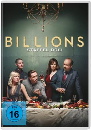 Billions - Staffel 3 (4 DVDs)