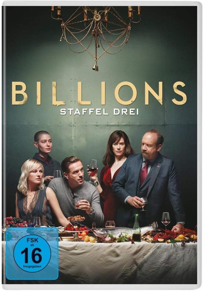 Billions - Staffel 3 (4 DVDs)
