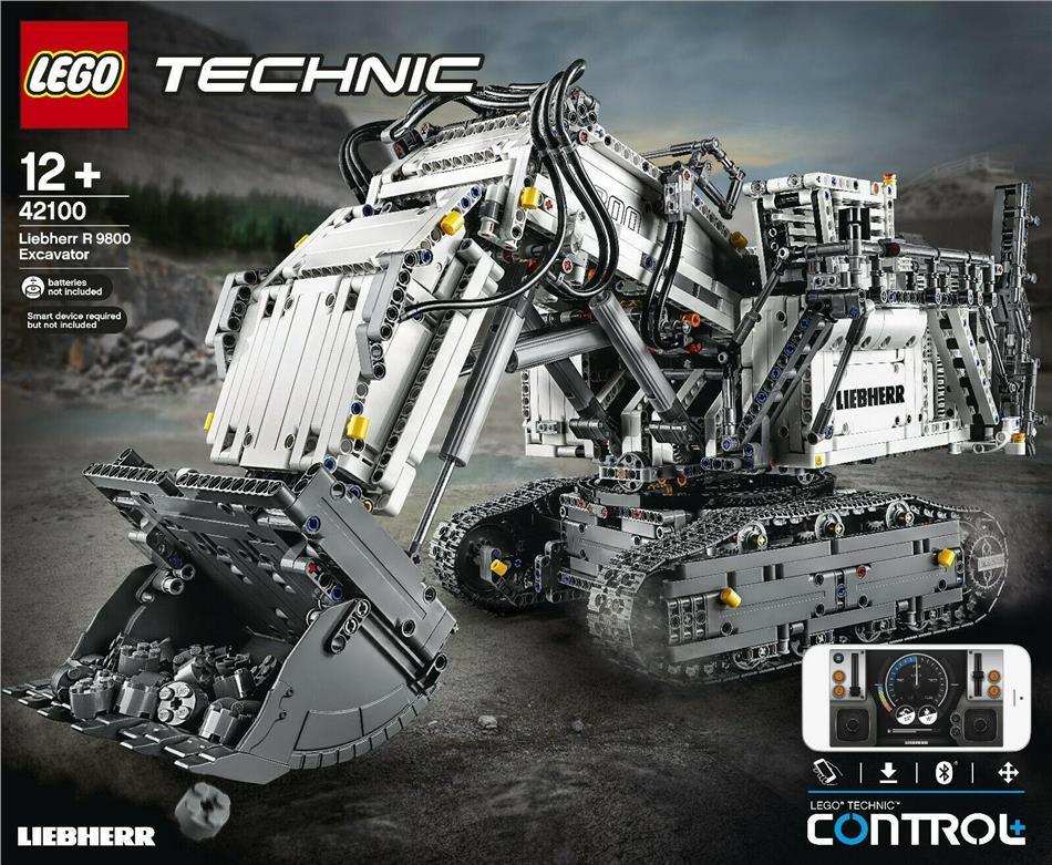 Liebherr Bagger R9800 - Lego Technic, 4108 Teile,