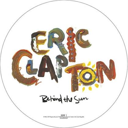 Eric Clapton - Behind The Sun (2019 Reissue, Picture Disc, LP)