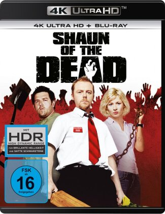 Shaun of the Dead (2004) (4K Ultra HD + Blu-ray)