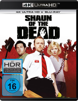 Shaun of the Dead (2004) (4K Ultra HD + Blu-ray)