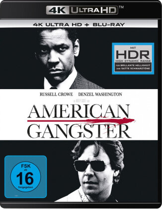 American Gangster (2007) (4K Ultra HD + Blu-ray)