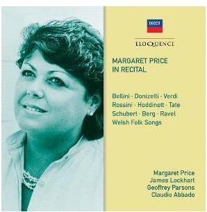Margaret Price - Margaret Price In Recital (Eloquence, 2 CDs)
