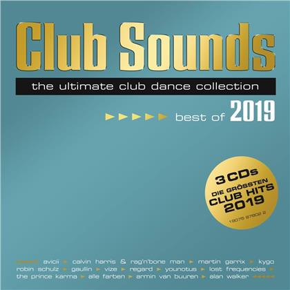 Club Sounds - Best Of 2019 (3 CDs)