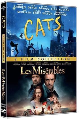 Cats - + Les Misérables - 2 Film Collection (2019) (2 DVD)