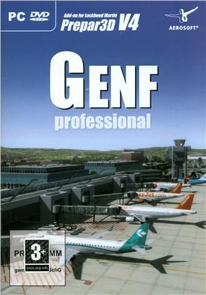 Flugsimulator FSX Geneva Professional ADDON zu FS X