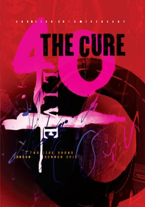 The Cure - Curaetion (25th Anniversary Edition, Limited Edition, Mediabook, 2 DVDs)