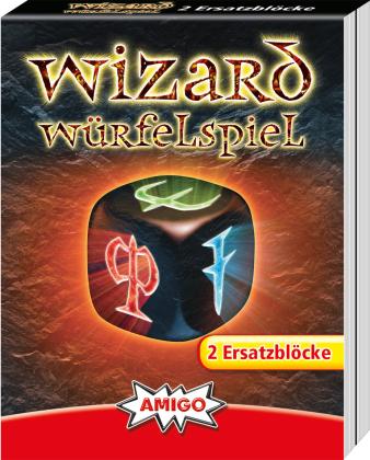 Wizard Würfelspiel - Ersatzblöcke 2 Stk.
