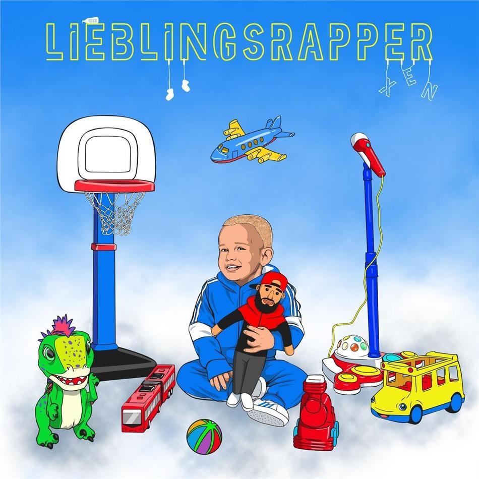 XEN (Rap) - Lieblingsrapper (Limited Fanbox, Trainingsjacke Grösse M)