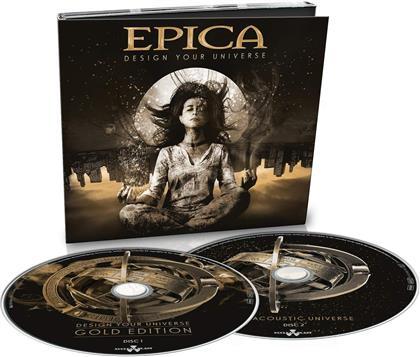 Epica - Design Your Universe (Gold Edition, 2019 Reissue, 2 CDs)