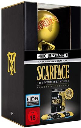 Scarface (1983) (Statue, Limited Edition, 4K Ultra HD + 2 Blu-rays)