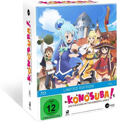 KonoSuba - Vol. 1 (+ Sammelschuber, Limited Edition, Mediabook)