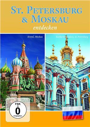 St. Petersburg & Moskau entdecken