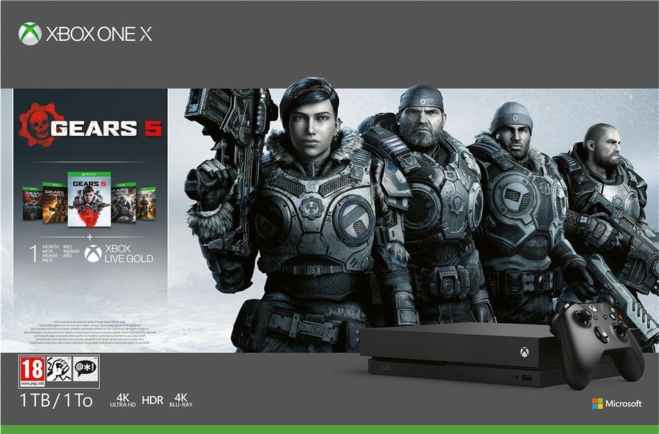 XBOX ONE X Konsole 1TB Gears 5 - (Standard Edition)