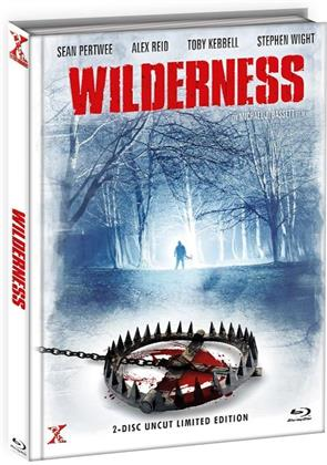 Wilderness (2006) (Cover B, Limited Edition, Mediabook, Uncut, Blu-ray + DVD)