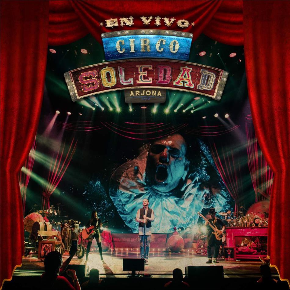 Ricardo Arjona - Circo Soledad - Live (2 CDs + DVD)