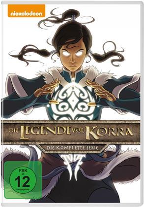 Die Legende von Korra - Die komplette Serie (8 DVDs)