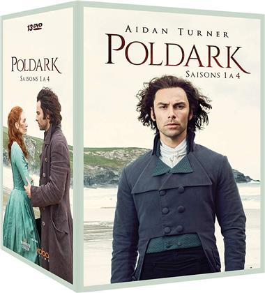 Poldark - Saisons 1-4 (13 DVDs)