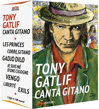 Tony Gatlif Canta Gitano (7 DVDs + CD)