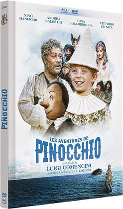Les aventures de Pinocchio (1972) (Limited Edition, Mediabook, Blu-ray + DVD)