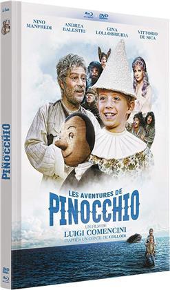 Les aventures de Pinocchio (1972) (Limited Edition, Mediabook, Blu-ray + DVD)