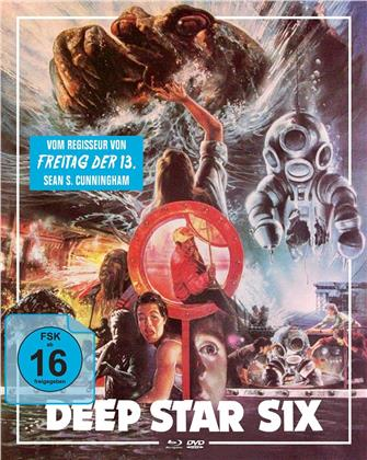Deep Star Six (1989) (Cover B, Mediabook, Blu-ray + DVD)