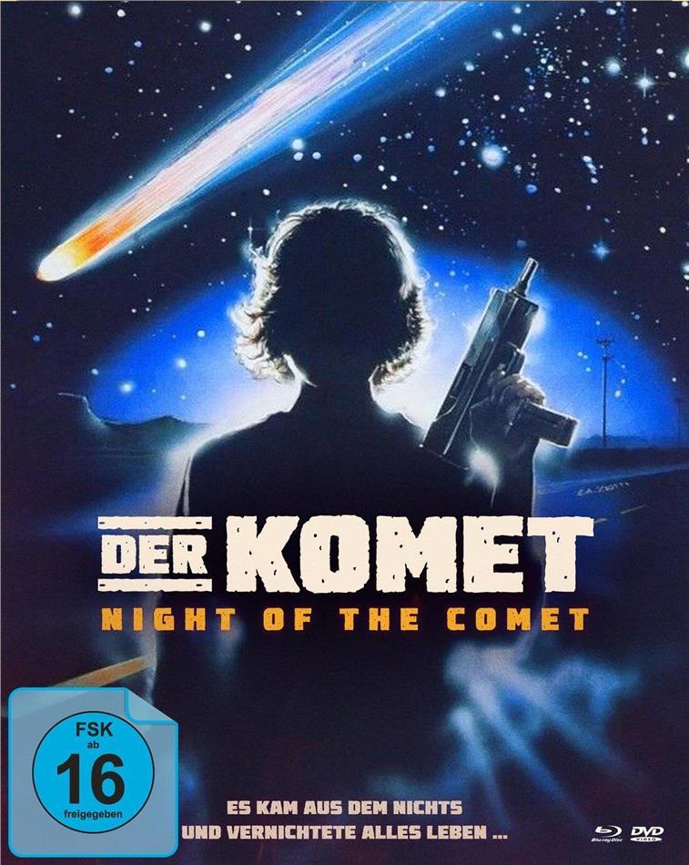 Der Komet - Night of the Comet (1984) (Cover B, Mediabook, Blu-ray + DVD)