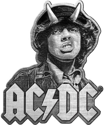 AC/DC Pin Badge - Angus