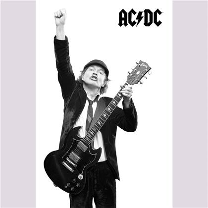AC/DC Textile Poster - Angus