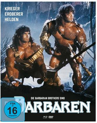 Die Barbaren (1987) (Mediabook, Blu-ray + 2 DVDs)