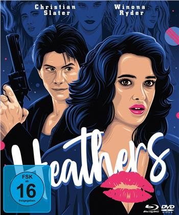 Heathers (1988) (Mediabook, 2 Blu-rays + DVD)