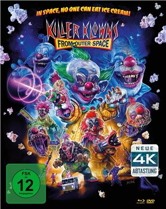 Killer Klowns (1988) (4K Mastered, Mediabook, Blu-ray + 2 DVD)