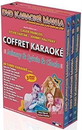 Karaoke - Karaoké Mania: Johnny & Sylvie & Cloclo (3 DVDs)
