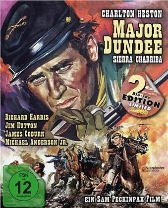 Major Dundee - Sierra Charriba (1965) (Limited Edition, Mediabook, 2 Blu-rays)