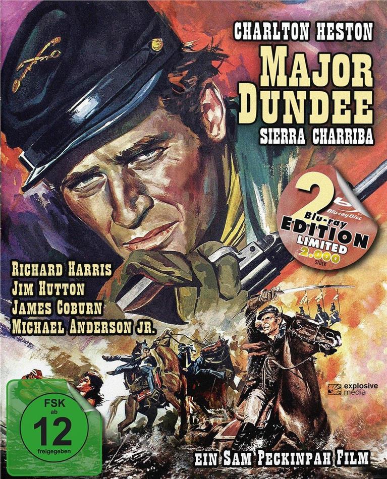 Major Dundee - Sierra Charriba (1965) (Limited Edition, Mediabook, 2 Blu-rays)
