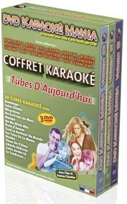 Karaoke - Karaoké Mania: Tubes d'aujourd'hui (3 DVDs)