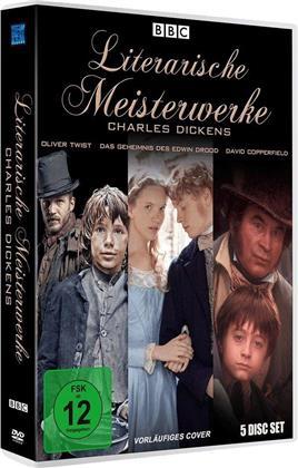 Literarische Meisterwerke: Charles Dickens - Oliver Twist / Das Geheimnis des Edwin Drood / David Copperfield (5 DVDs)